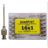 Sharpvet Round Hub Hypodermic Needles - reusable - 14 x 4 - 2 x 100 mm